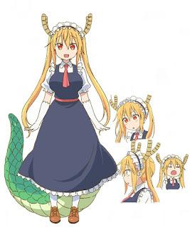 โทรุ (Tohru) @ Miss Kobayashi's Dragon Maid: Kobayashi-san Chi no Maid Dragon คุณโคบายาชิกับเมดมังกร