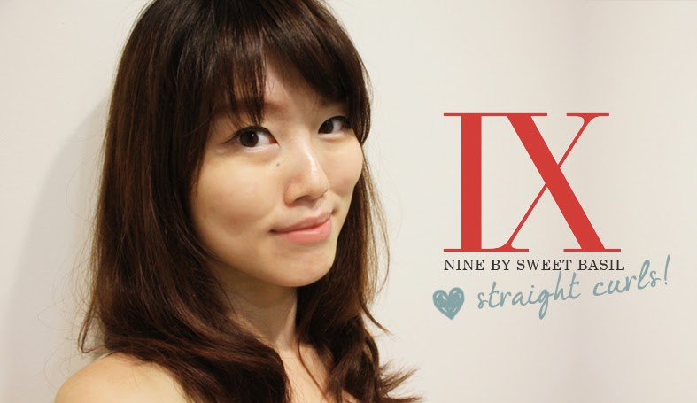 NINE By Sweet Basil: Straight Curls with Yoshi