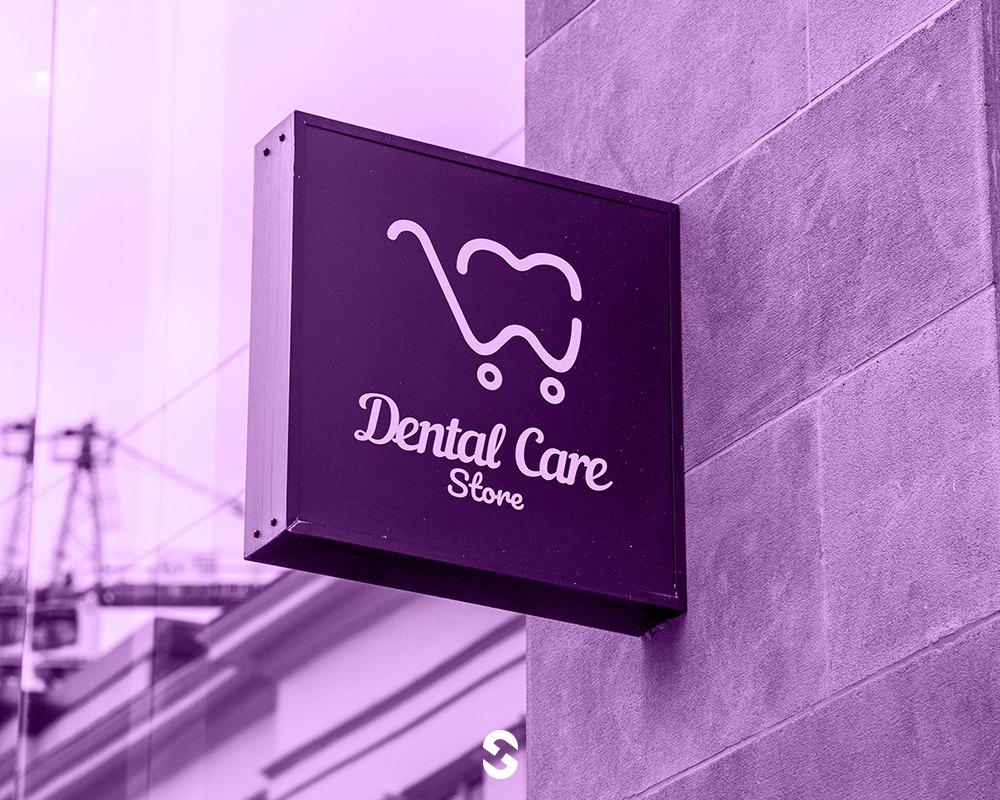 Dental Care Store Branding project by Designer Sherif Ashraf