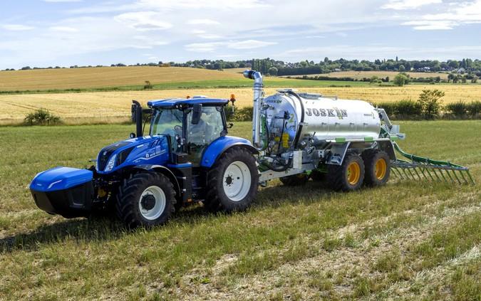 Trator New Holland movido a metano chega ao mercado mundial em 2021