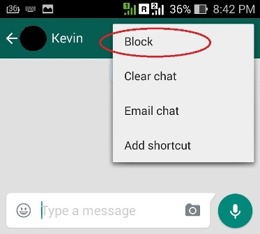how to delete whatsapp contact samsung