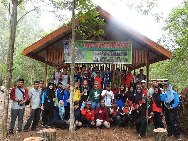 WWF Pandu MPA Desa Sepahat untuk Monitoring Pertumbuhan Pohon Melalui Metode Geotag