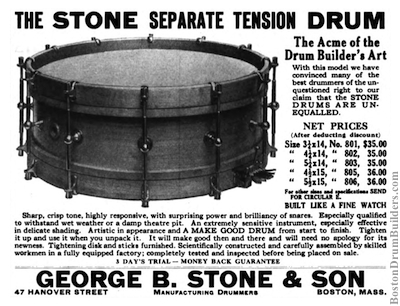 George B. Stone & Son Advertisement, March 1920