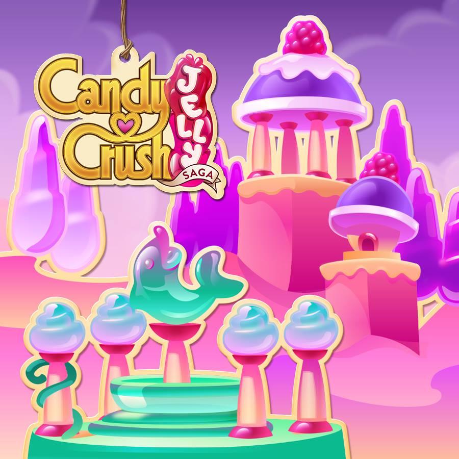Candy Crush Jelly Saga Saga 281-300