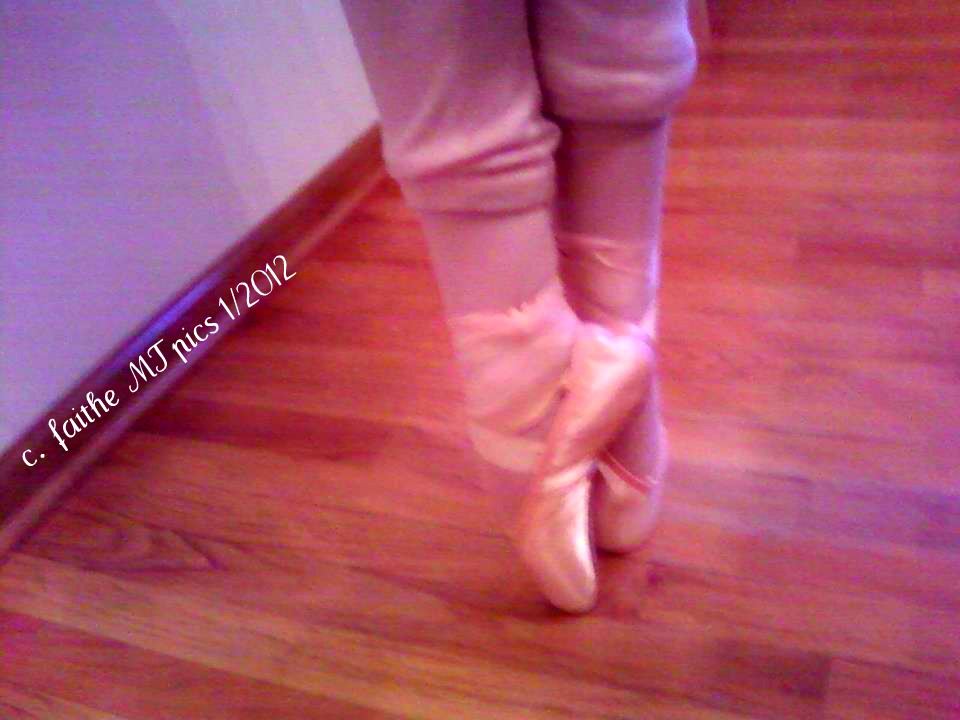 Pointe Shoes Slipping Off Heels