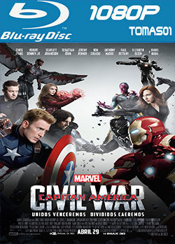 Capitán América: Civil War (2016) BDRip m1080p / BRRip 1080p