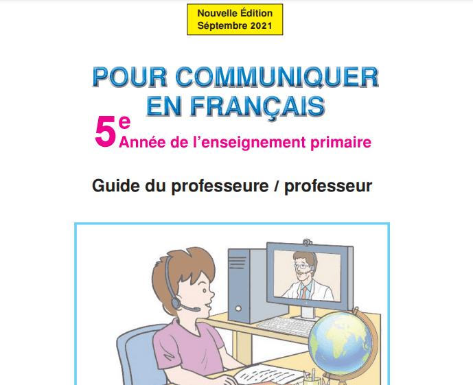 Guide pour communiquer en français 5 2021