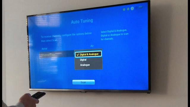 سامسونغ تشرح كيفية البحث عن الفيروسات على جهاز التلفزيون الذكي والجميع سخر منها !