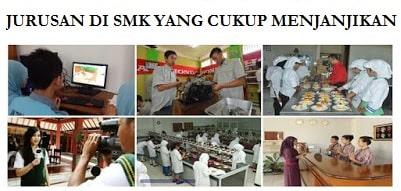 Jurusan di SMK yang memiliki peluang masa depan menjanjikan