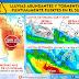 """Lluvias abundantes y torms fuertes en el SO, S y SE (+150 mm). """"Veranillo"""" en el N (Sab 2/7 - Mar 5/7)"""