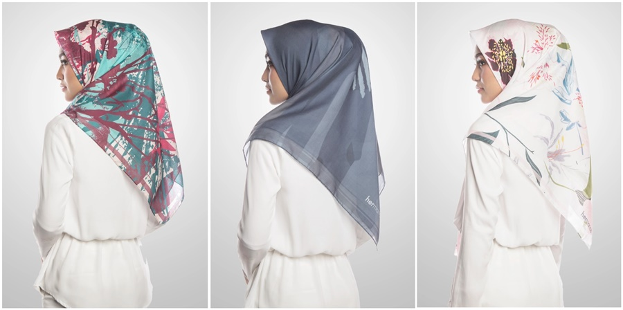 Tudung Bawal Cotton Voile Hermanas