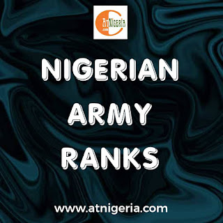 Nigeria army ranks