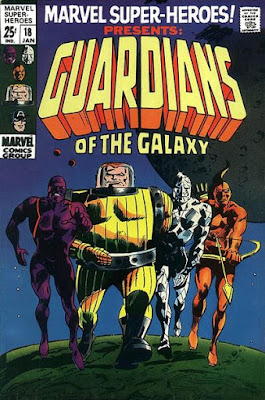 Marvel Super-Heroes #18, Guardians of the Galaxy