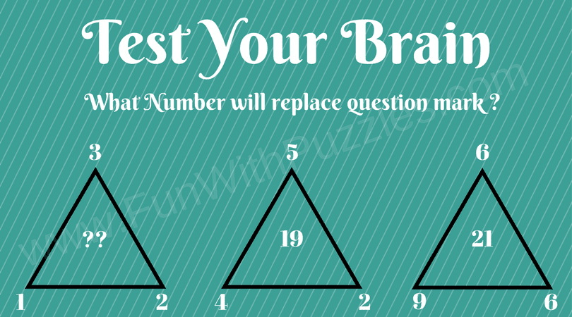 Maths Missing Number Triangle Picture Puzzles - Fun With Puzzles