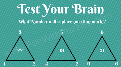 Test Your Brain Triangle Math Brain Teaser