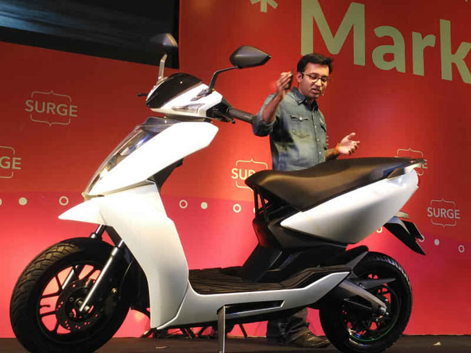 Bengaluru Startup, India's first smart electric scooter