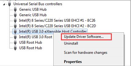 USB 3.0 Driver For Windows 8.1 64-Bit