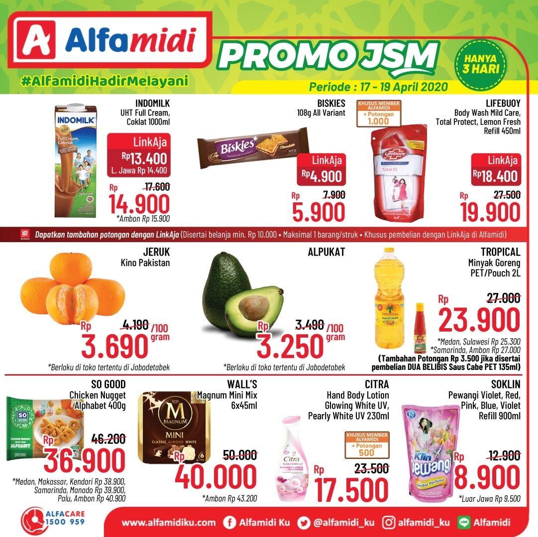 Promo Jsm Alfamidi 17 19 April 2020