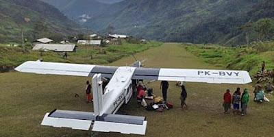 KKB Menyandera Pesawat Susi Air, Alasannya Karna Tak Dapat Dana Desa