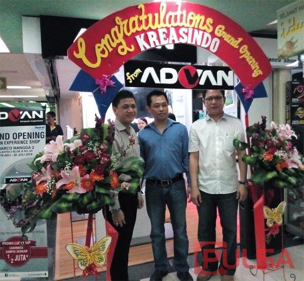 Advan Experience Shop Kini Hadir di Harco Mangga Dua