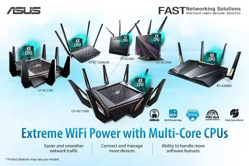 ASUS Multi-core Routers