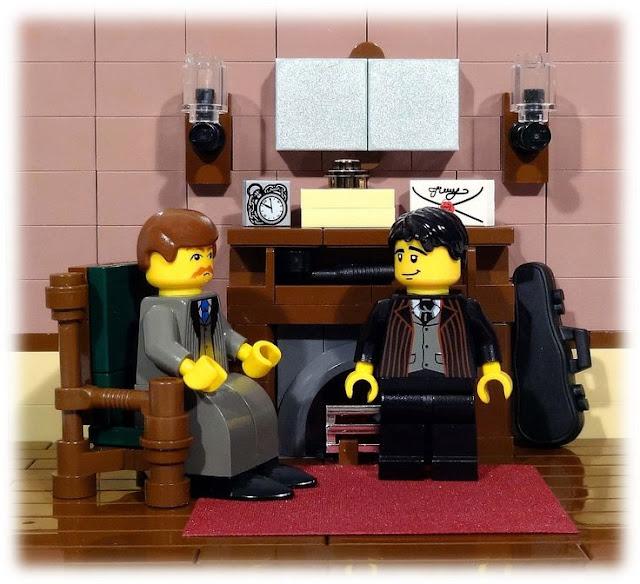 I Hear of Sherlock Everywhere: Sherlock Holmes in LEGO: The Strange Case of the Interlocking Blocks