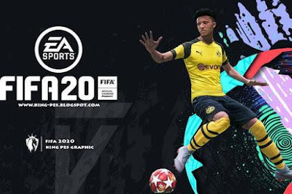 FIFA 20 Graphic Menu For - PES 2017