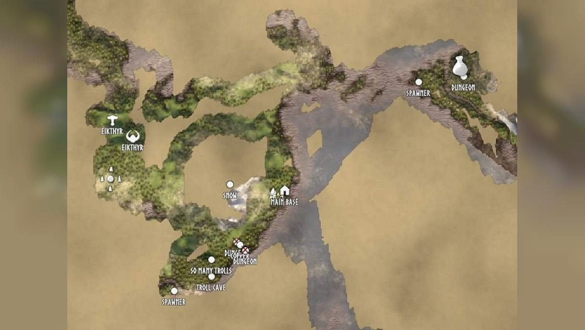How to find a merchant in Valheim and what goods (items) you can buy from him