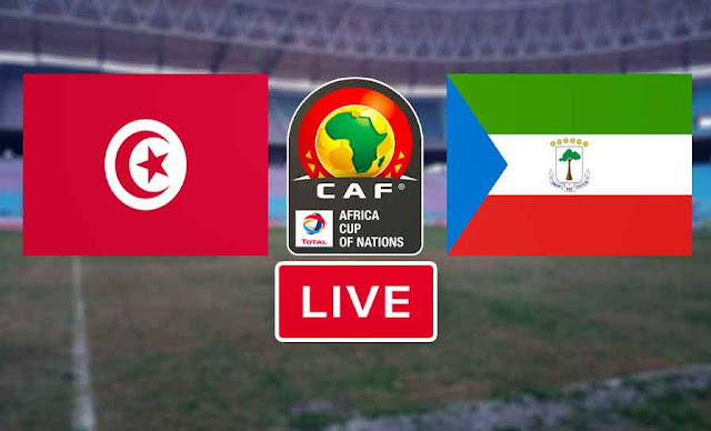 Match Tunisie vs Guinée Équatoriale live streaming