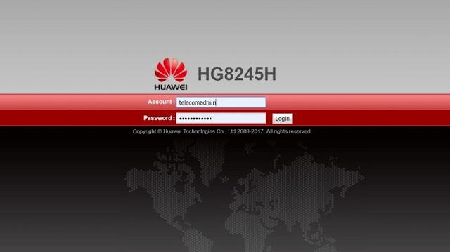 Indihome Huawei Hg8245H