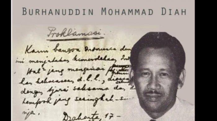 Sosok: BM Diah, Pahlawan Wartawan Si Penyelamat Naskah Teks Proklamasi Asli dari Tong Sampah
