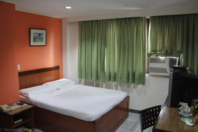 Golden Valley Hotel Room in Cebu City