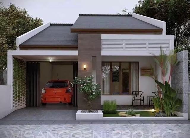 18+ Gambar Rumah Minimalis Tampak Depan