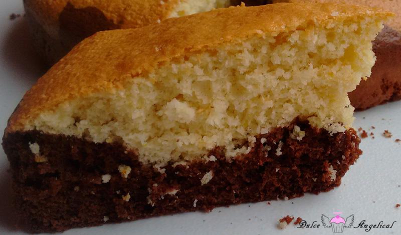 Bizcocho casero de chocolate y coco