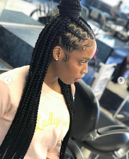 Looking for new cornrow styles to revamp your hair game this season ✘ 22+ Latest Bohemian Feed In Braids Hairstyles Ponytails To Copy In 2020