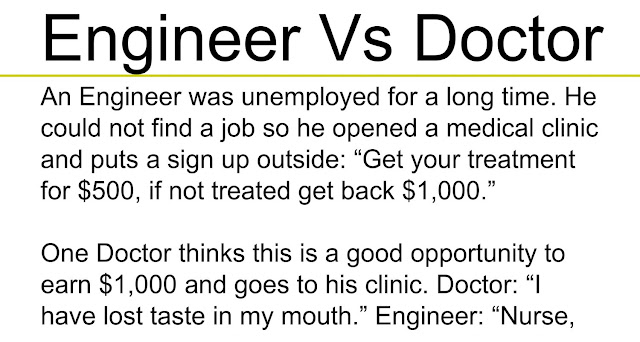 Engineer Vs Doctor Social Every Things