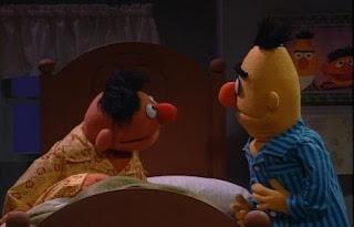 Ernie and Bert sing Imagination Song. Sesame Street Best of Friends