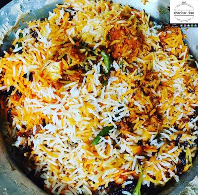 Hyderabadi Chicken Dum Biryani!