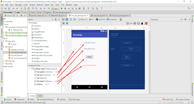 Cara Membuat Aplikasi Menghitung Luas dan Keliling Persegi dengan Android Studio