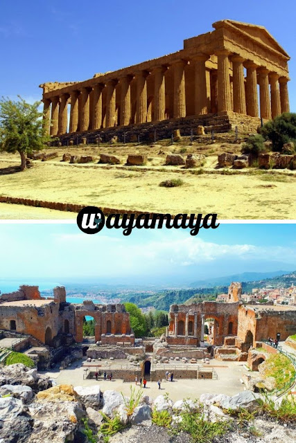 Valley of the Temples, Agrigento & Greek Theatre, Taormina | Sicily, Italy | wayamaya