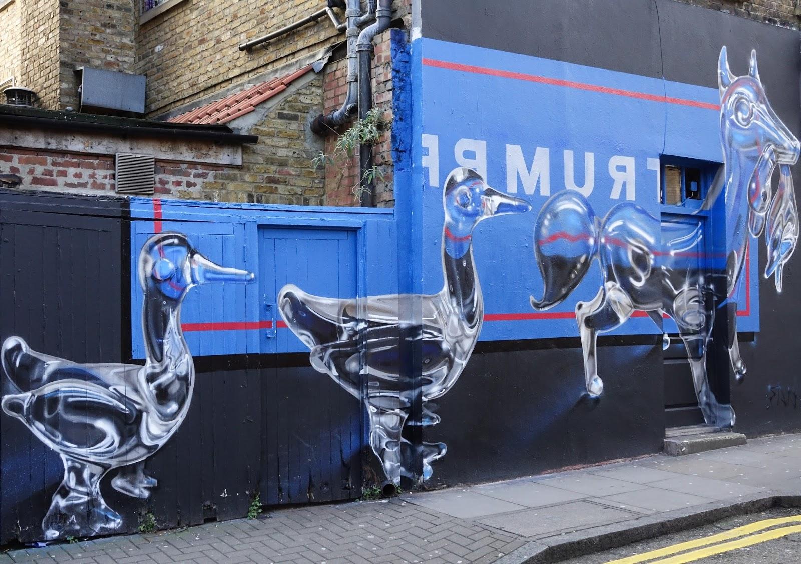 London More Amazing Graffiti Of Brick Lane Shoreditch Anset2000 Blog