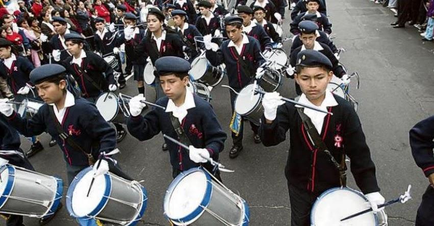 Más colegios se suman para no participar en desfiles en rechazo a actos de corrupción en el país