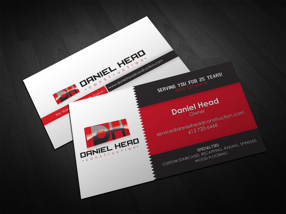 Construction business cards business card tips building construction visiting card design unique construction business cards contractors business cards examples reheart Image collections