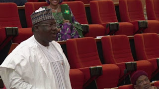 BREAKING!!! APC's Ahmed Lawan Emerges Senate President Of The 9th Assembly