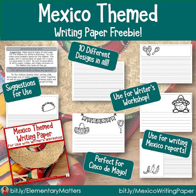 https://www.teacherspayteachers.com/Product/Mexico-Themed-Paper-679832?utm_source=May%20resources%20blog%20post&utm_campaign=Mexico%20paper
