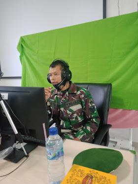 Berikan Materi Wasbang Kepada Mahasiswa, Serma Jasmadi : Bijaklah Dalam Bermedsos