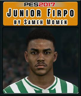 PES 2017 Faces Junior Firpo by Sameh Momen