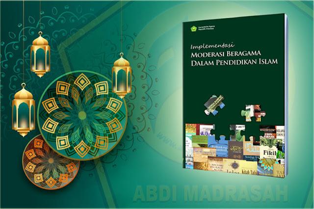 Buku Implementasi Moderasi Beragama dalam pendidikan Islam
