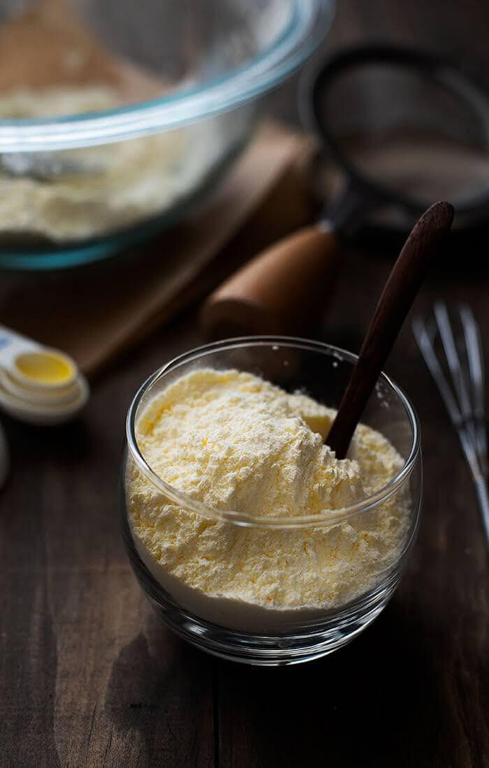 Custard powder ingredients