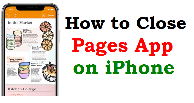 How to Close Pages on iPhone